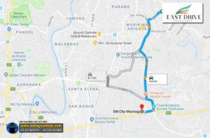 From SM Masinag to East Drive Townhomes Marikina